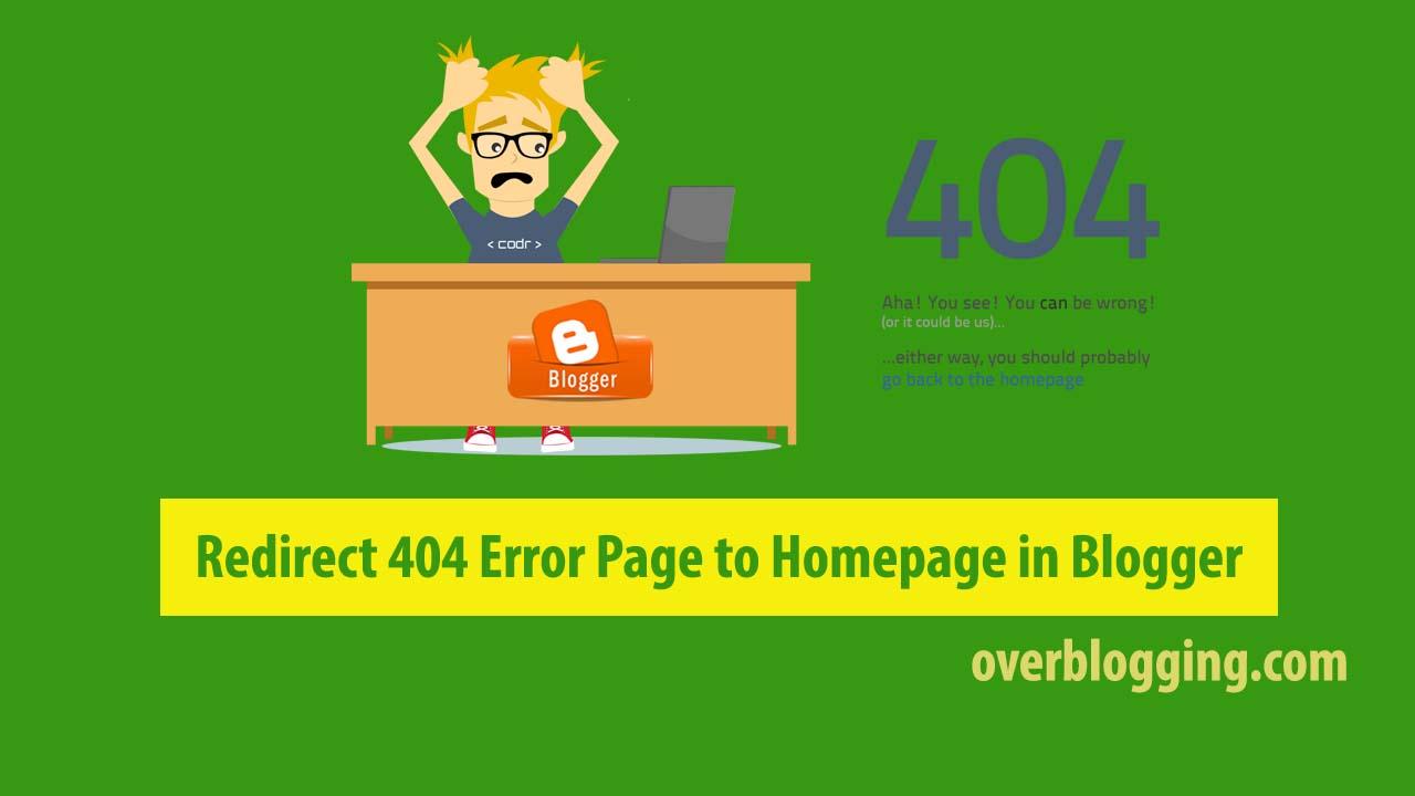 404 error solve blogger