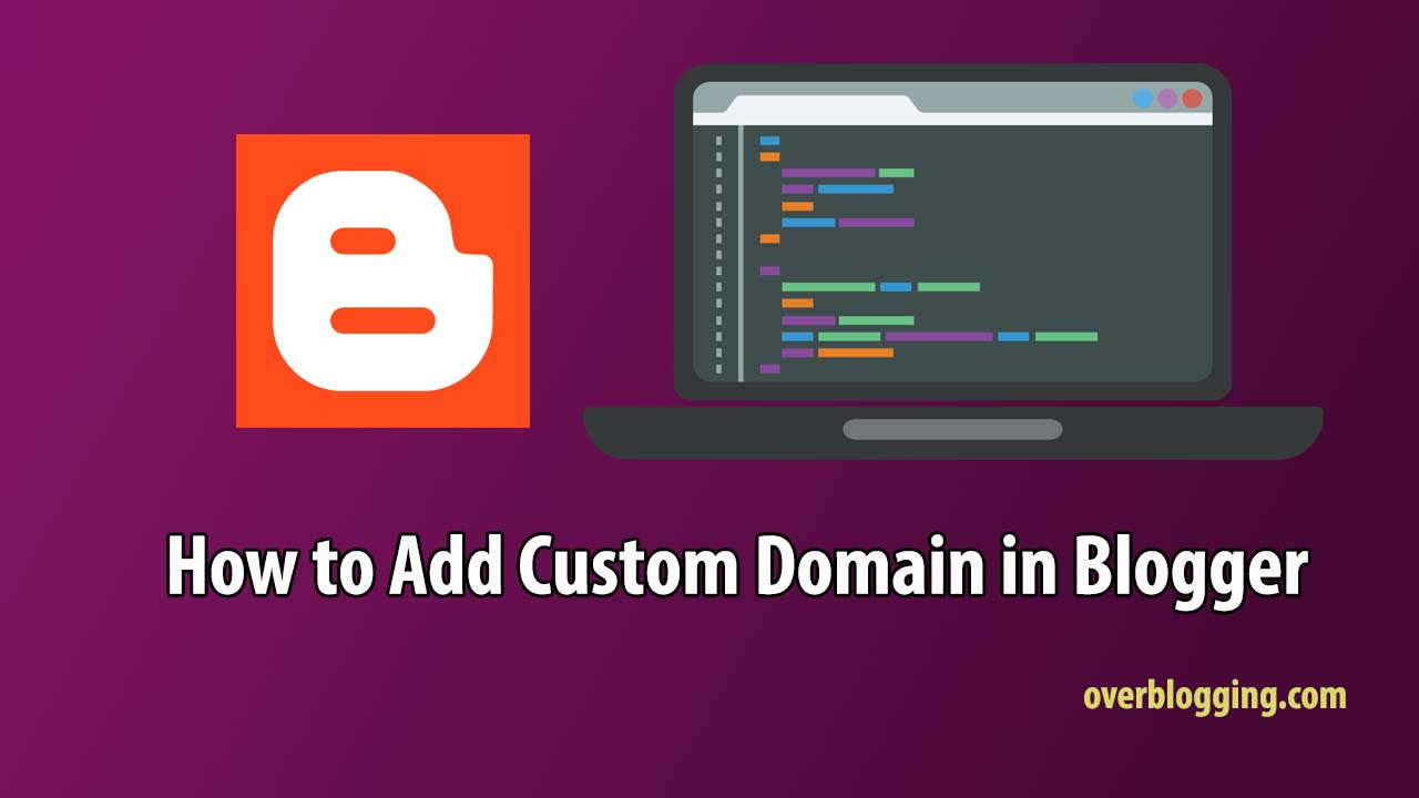 add custom domain in blogger