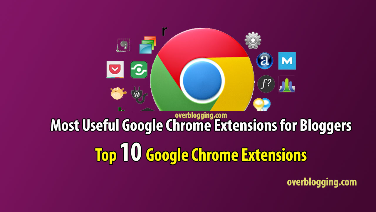 most used chrome extensions