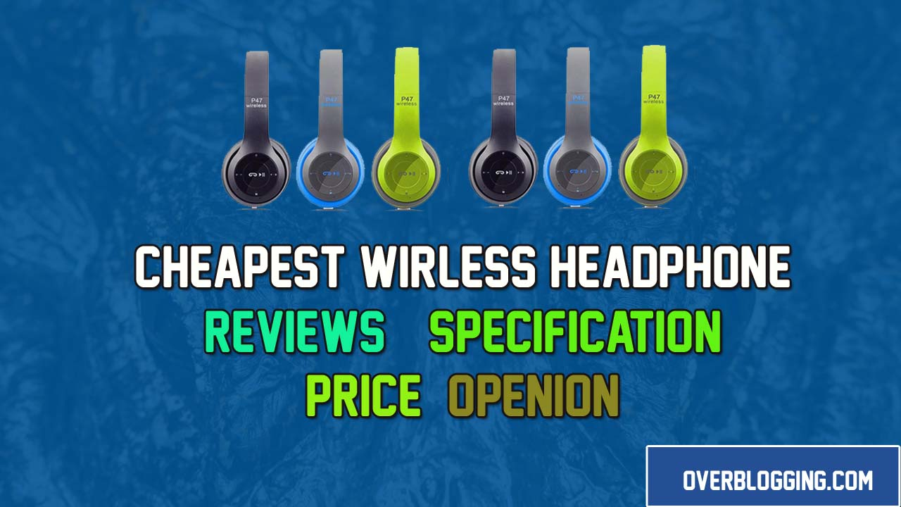 Cheapest Wireless Headphone in Pakistan Reviews